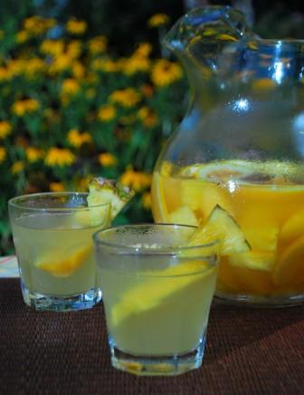 Orange Pineapple Sangria