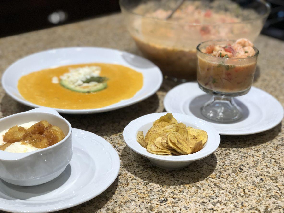 Picture of an Ecuadorean Meal