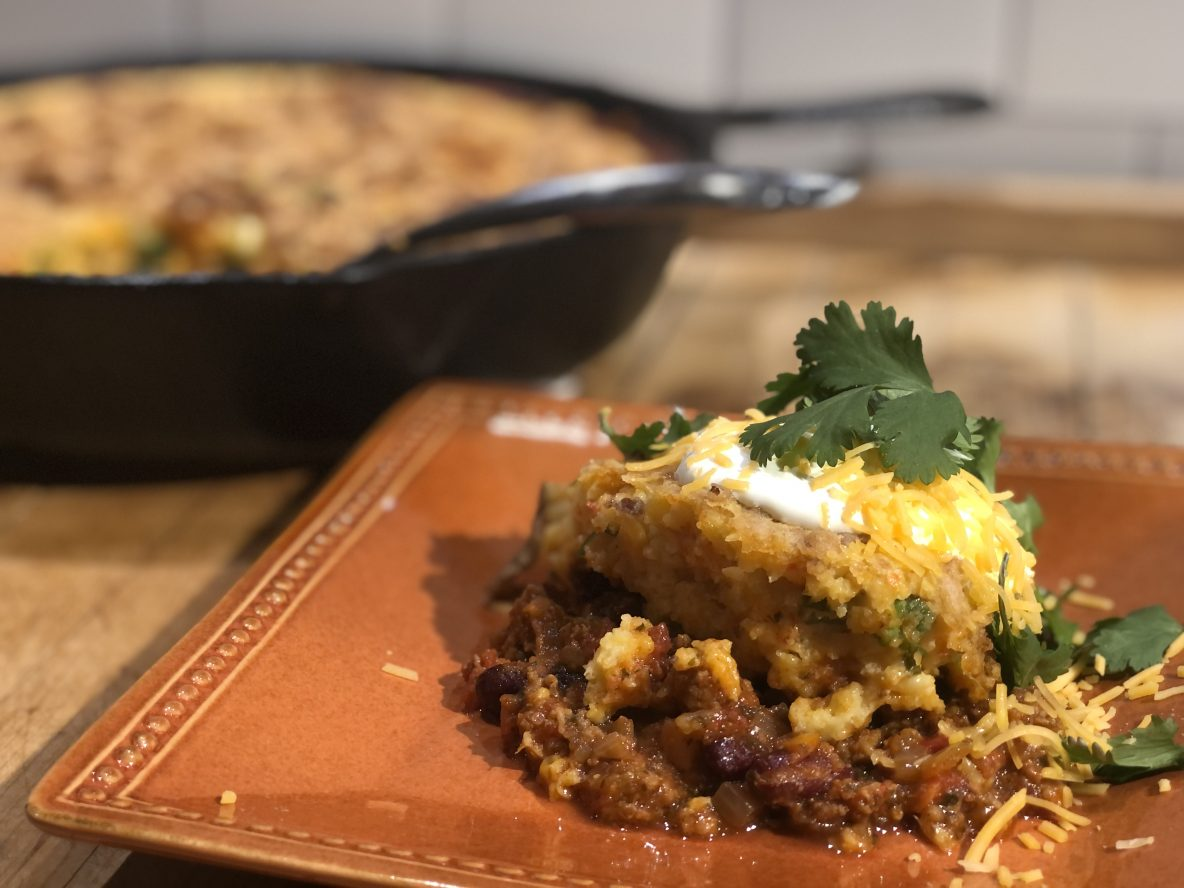 Photo of Tamale Pie on a plate